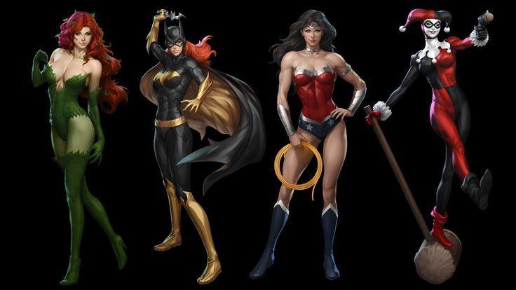 DC-Comics-Женщина-Кошка-Харли-Квинн-Бэтмен-Ядовитый-Плющ-Джокер-Шелковые-Ткани-Плакат-Украшения-Дома-DM1062.jpg (1000×563)