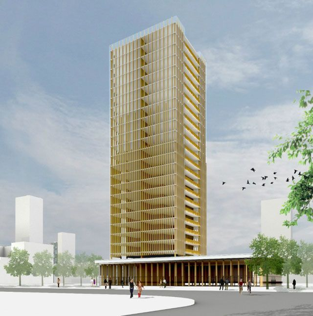 Wood 2.0: mass timber and the tall buildings of tomorrow - Architect Michael Green's vision for 30-storey timber buildings
