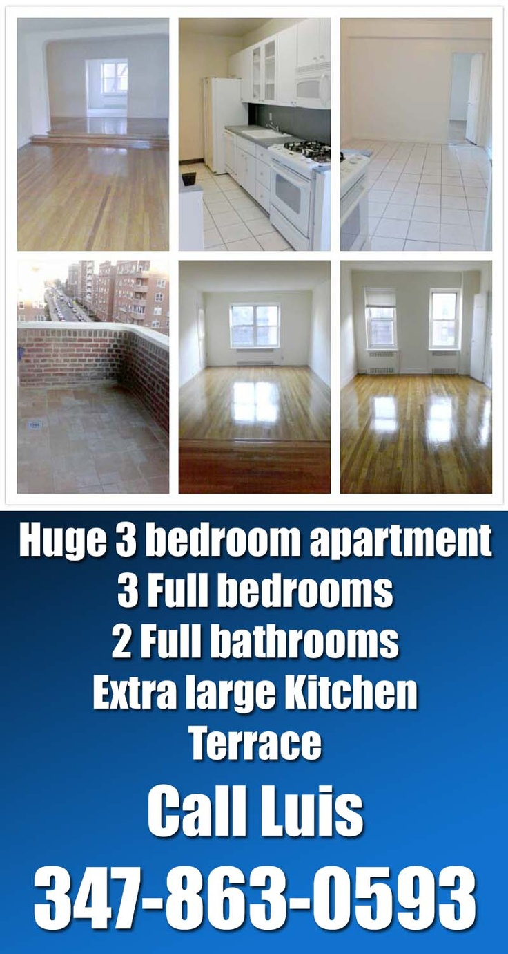 3199 Extra large 3 bedroom apartment in forest hills  Queens  NY. 17 Best images about Apartments for rent in Queens NY on Pinterest