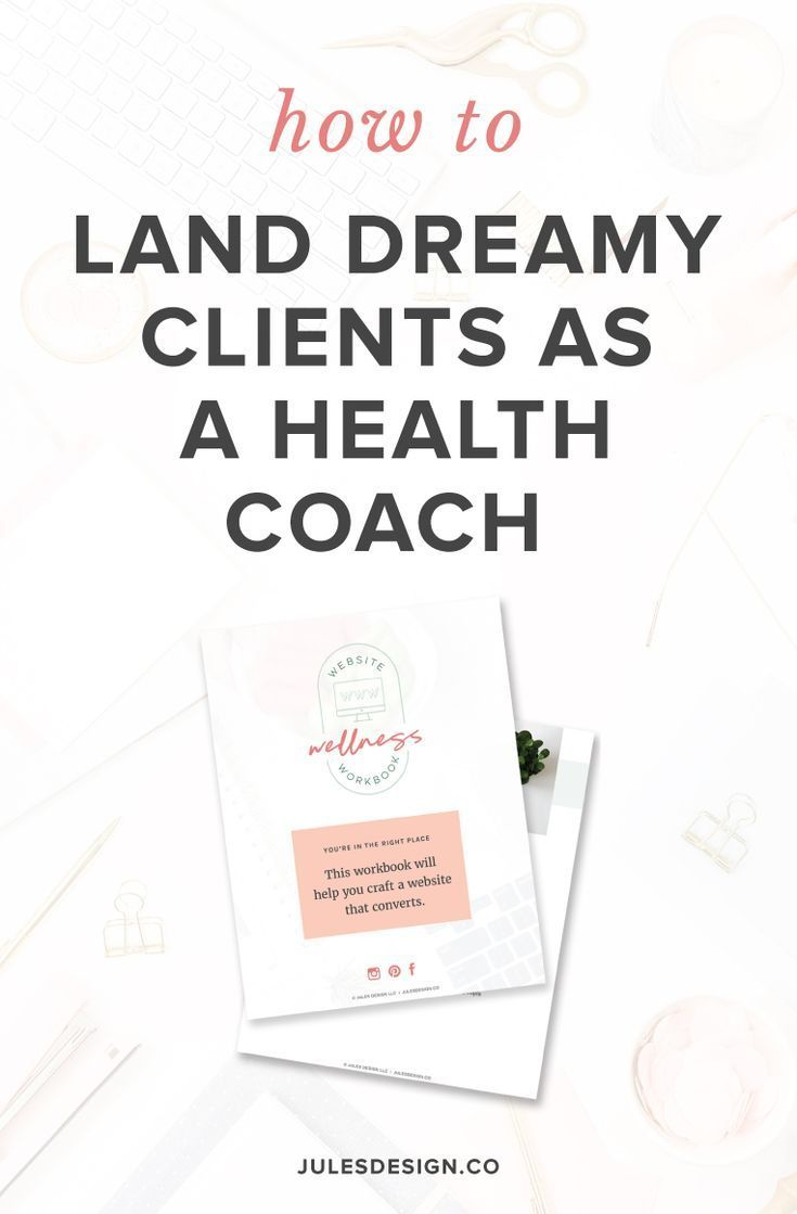 3 Ways To Find Your Ideal Clients As A Health Wellness Expert Jules Design Health Coach Finding Yourself Health