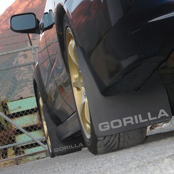 Gorilla Mud Flaps / Gravel Guards are designed to help