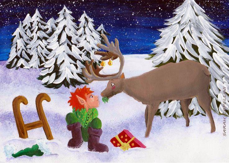 I disegni  di Verdemela: Natale 2014 - Christmas 2014, a winter tale