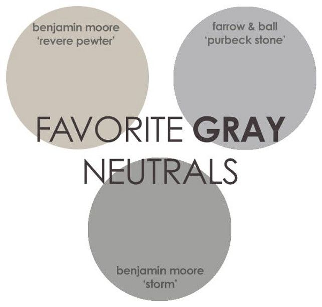 Revere Pewter Benjamin Moore  Storm Benjamin Moore  Purbeck Stone Farrow  and Ball  Via Rhiannons Interiors Best 25  Benjamin moore storm ideas on Pinterest   House paint  . Great Neutral Paint Colors Benjamin Moore. Home Design Ideas