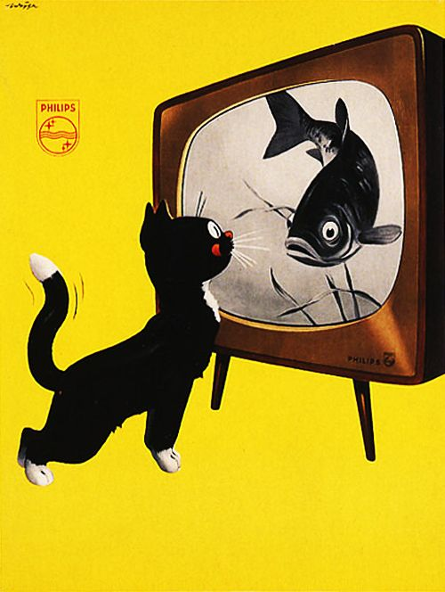 Ad for Philips TV [1951]
