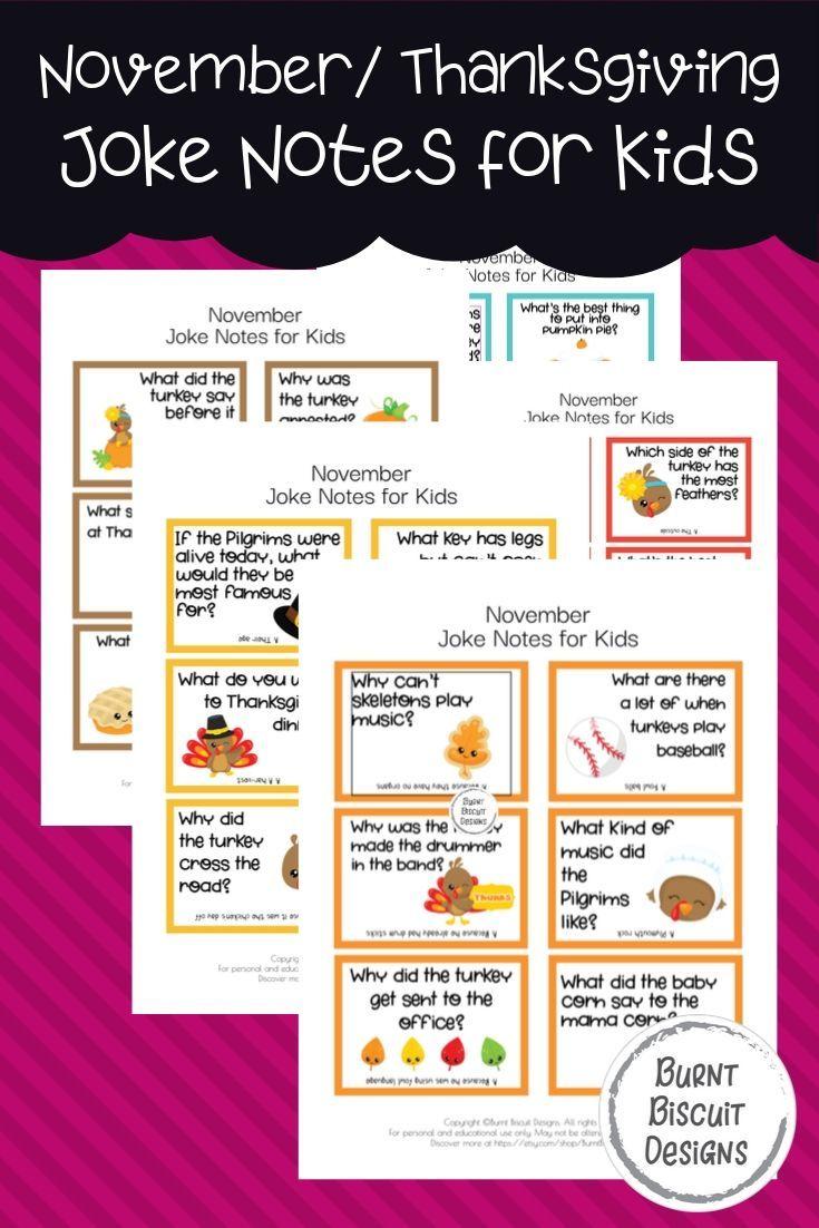 November Thanksgiving-Witze für Kinder – The Family