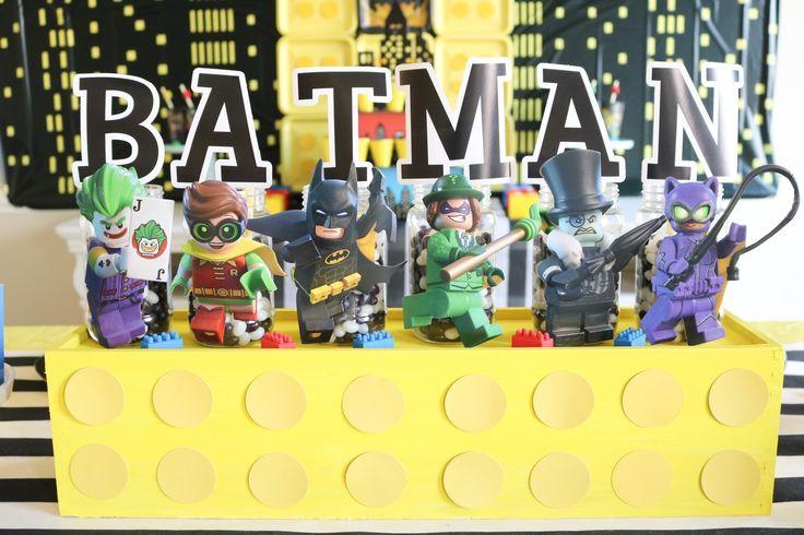 lego batman centerpiece