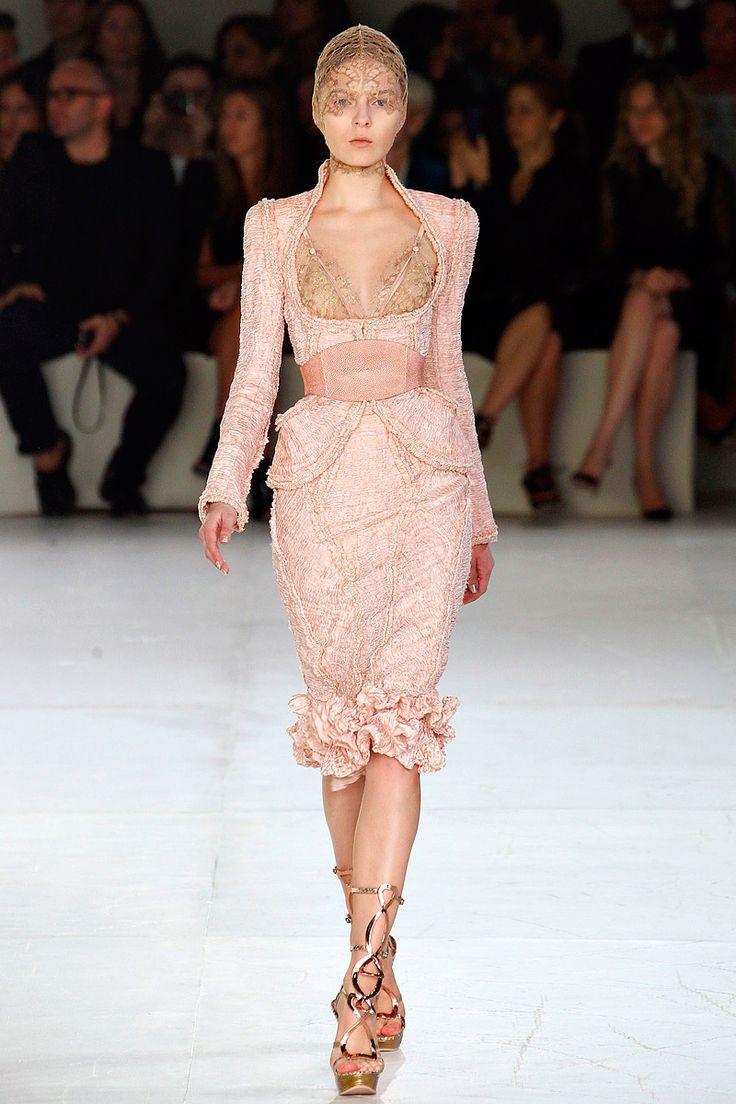 Alexander McQueen, spring 2012 #Paris #PFW #runwayReady To Wear, Alexander Mcqueen, Fashion, Mcqueen Spring, Alexandermcqueen, Couture, Mcqueen 2012, Spring 2012, 2012 Rtw
