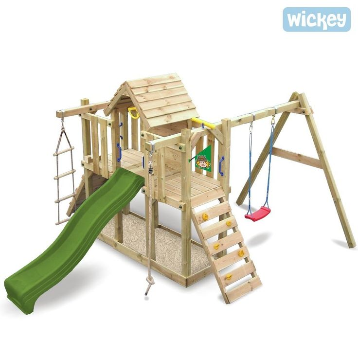 wickey twinstar air de jeux exterieur portique en bois ebay module de jeux ext rieur. Black Bedroom Furniture Sets. Home Design Ideas