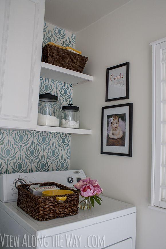 No te pierdas el antes y el después de un espacio destinado a lavar la ropa con un resultado espectacular.