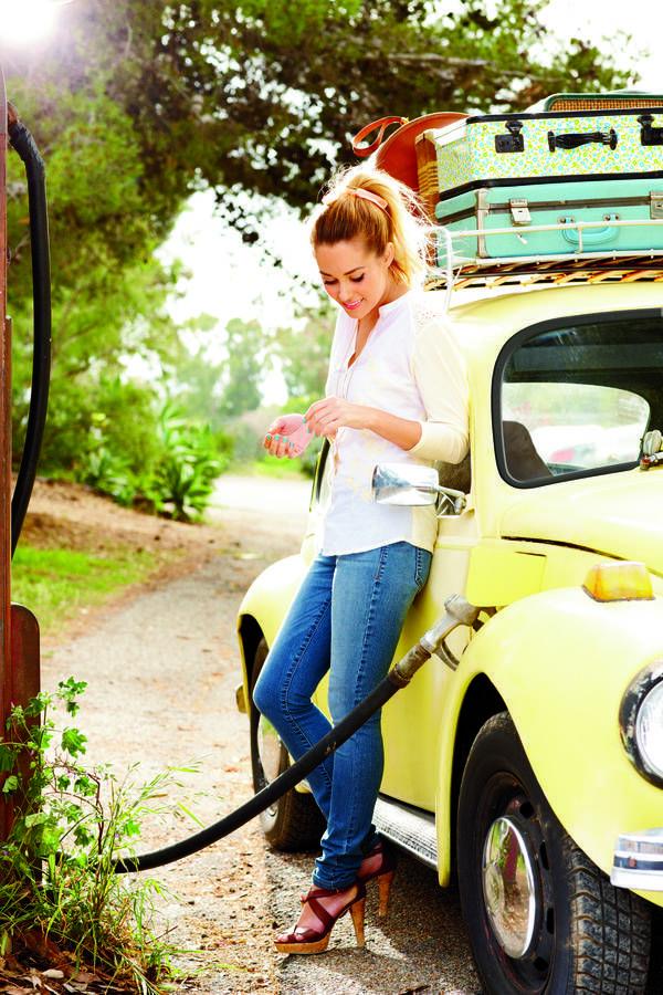 Lauren Conrad's sweet summer style