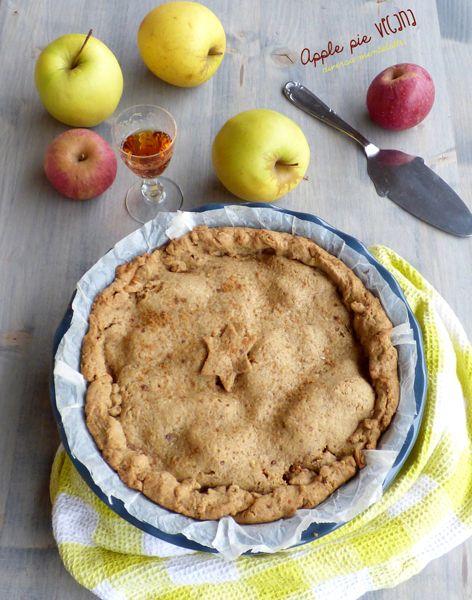 Apple pie vegana senza lattosio e senza uova - Cucina Semplicemente