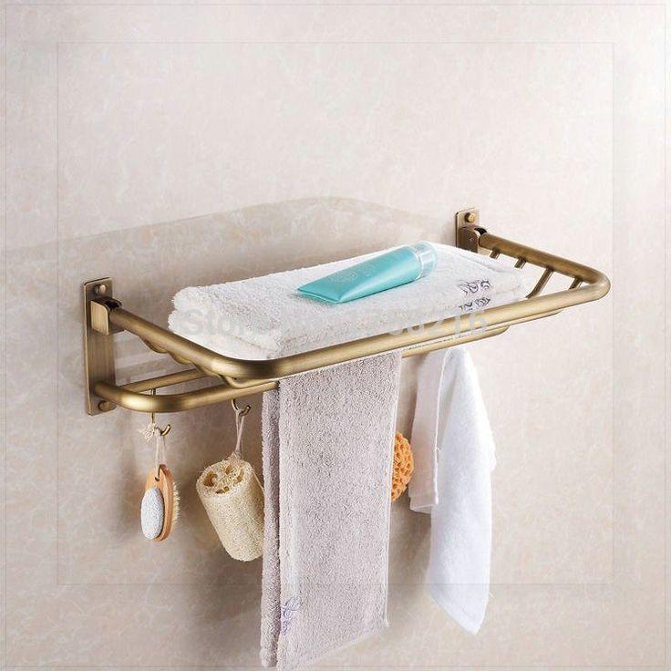 Купить товарНовое поступление античная медь полотенце стержень стойке вешалка для полотенец мода аксессуары для ванной комнаты роскошный полотенце HJ 1812 torneiras banh в категории Вешалки для полотенецна AliExpress.            &