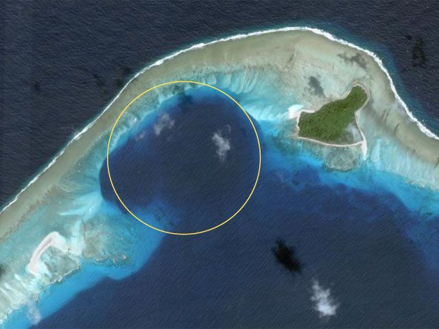 Castle bravo, the biggest USA atomic bomb test on the Bikini atoll