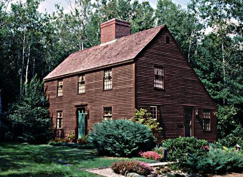 17 best ideas about early american homes on pinterest for Mckie wing roth home designs