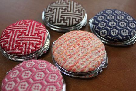 Kogin mirror embroidery
