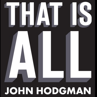 Now reading the final book in John Hodgman's epic trilogy of made-up facts. Book one had hoboes, book two had mole men. This one's about Ragnarok, which is apparently happening in 2012.
