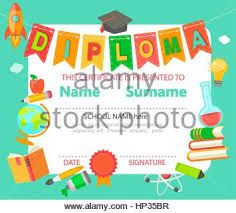 Sample Certificates For Kids Preschool Graduation Stock Images,  Royalty Free Images U0026 Vectors .