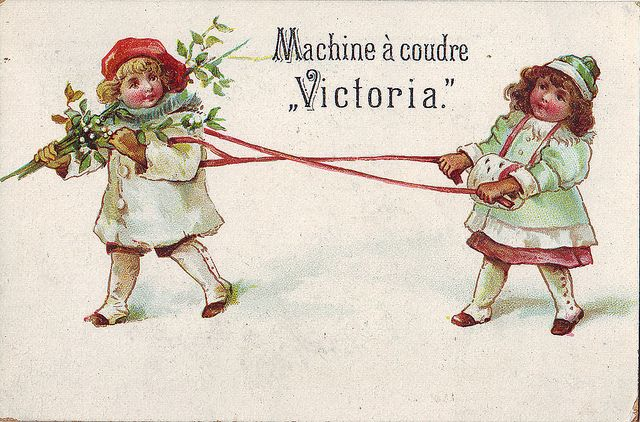 10 best whitehill trade cards images on pinterest sewing for Machine a coudre victoria