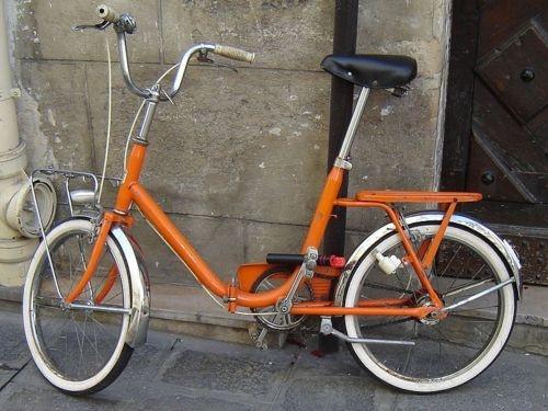 Vintage bicycle, European bicycle, folding bicycle...