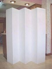 Dorm Room Privacy Screen Home Office Partition Folding Screen