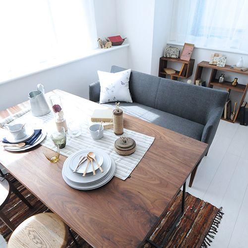 スミ ダイニングテーブル SUMI dining table(14811) - リグナジャパンコレクションのテーブル | おしゃれ家具、インテリア通販のリグナ