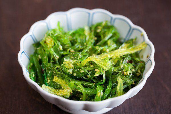 Restaurant Seaweed (Mekabu)Salad