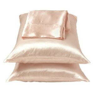 Satin/Silk Pillowcases. Helps with hair growth &! Anti-Aging Benefits... but more over, they feel amazing.