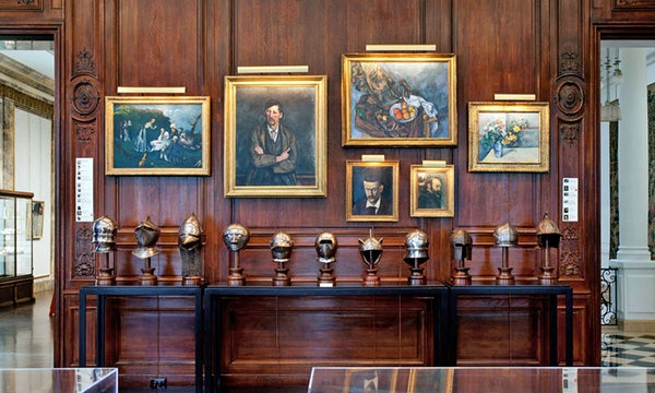 "Sneak a peak into Ronald Lauder's library, as it was ""re-created"" at the Neue Galerie in NYC"