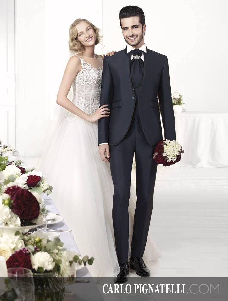 Carlo Pignatelli Cerimonia and Fiorinda le spose di Carlo Pignatelli - collections 2015. #carlopignatelli #fiorinda #cerimonia #bride #sposa #sposo #groom #suit #weddingdress #bridalgown #wedding #matrimonio #weddingday