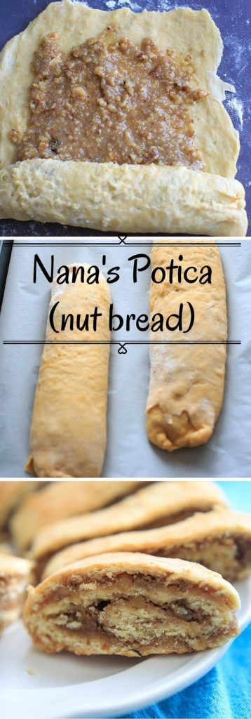 Nana's Potica recipe - a Slovenian nut roll traditionally served at Easter and Christmas. Make this to give as gifts or for dinner parties.