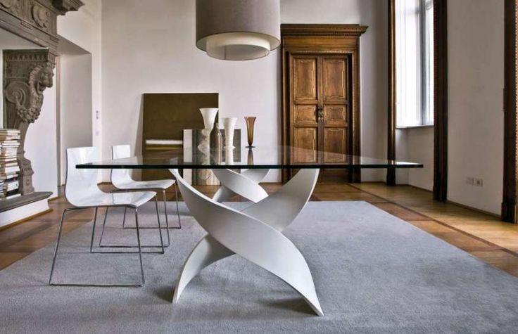 Come scegliere il tavolo da pranzo - Particolare struttura per il tavolo da…