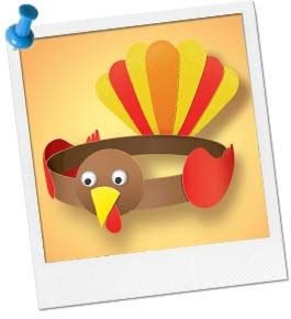 Preschool Turkey Craft Printable