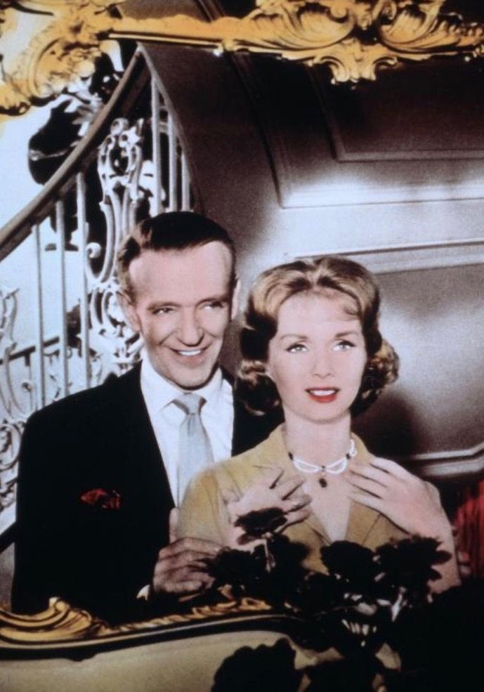 Fred Astaire and Debbie Reynolds