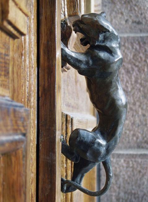 Awesome door handle.