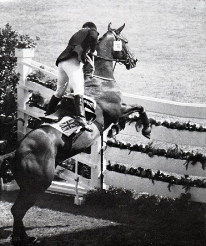 Ann Moore (* August 20, 1950 in Birmingham, England) won a silver medal in the individual show jumping at the 1972 Munich Olympics on her horse Psalm. Ann Moore was the last British rider to win an individual medal at the Olympic show jumping event since 1972 (this does not include team Gold for Great Britain in the 2012 Olympics).