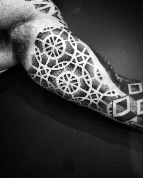 Geometric Dotwork Design by Andre Persore