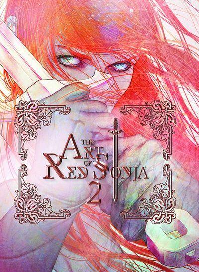 Art Of Red Sonja HC Vol. 02 #art #book