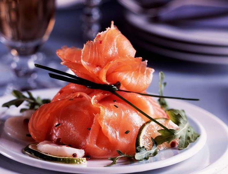 Voir la recette des Huîtres pochées aux baies roses sauce champagne