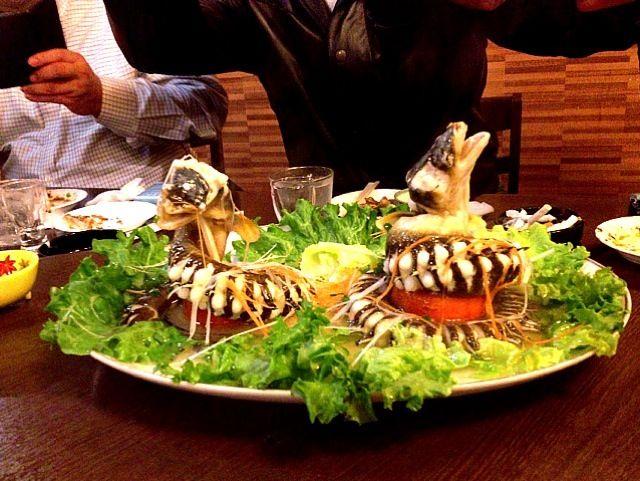 華香園 福岡市東区馬出2-19-5-101 ここの中華料理、超本番、超美味い - 5件のもぐもぐ - アナゴ料理 by 逸