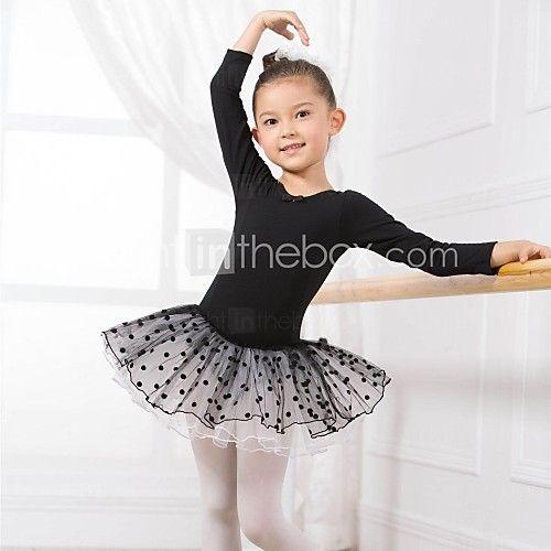 Ballet Kleding Bovenlichaam / Jurken en rokken / Tutu / Jurken Kinderen Katoen Lange Mouw 110:50,120:53,130:56,140:59,150:61 2017 - €17.63