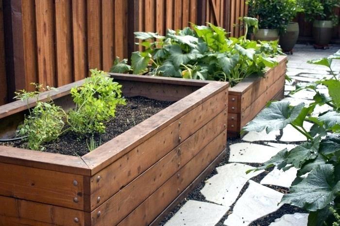 Pin On Railing Planter Wooden Planter Boxes Flagstone Patio Inside Home Decor
