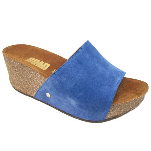 Διαγωνισμός paiksekerdise.gr με δώρο 1 ζευγάρι Road δερμάτινη πλατφόρμα σε χρώμα Blue Jean