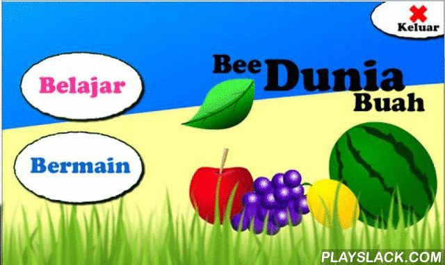 Bee Dunia Buah  Android App - playslack.com ,  Aplikasi ini adalah aplikasi pembelajaran pengenalan nama-nama buah, cocok untuk anak-anak 2-9 tahun.fitur aplikasi ini dilengkapi dengan permainan menarik dan animasi interaktifSelamat Mencoba ^^Bee belajar adalah aplikasi pendidikan untuk anak-anak yang berusia 2-9 tahun, Bee belajar membuat anak-anak dapat belajar sendiri dengan cara yang menyenangkan, didalam Bee belajar terdapat permainan yang menarik untuk mengasa otak anak-anak, mulai…