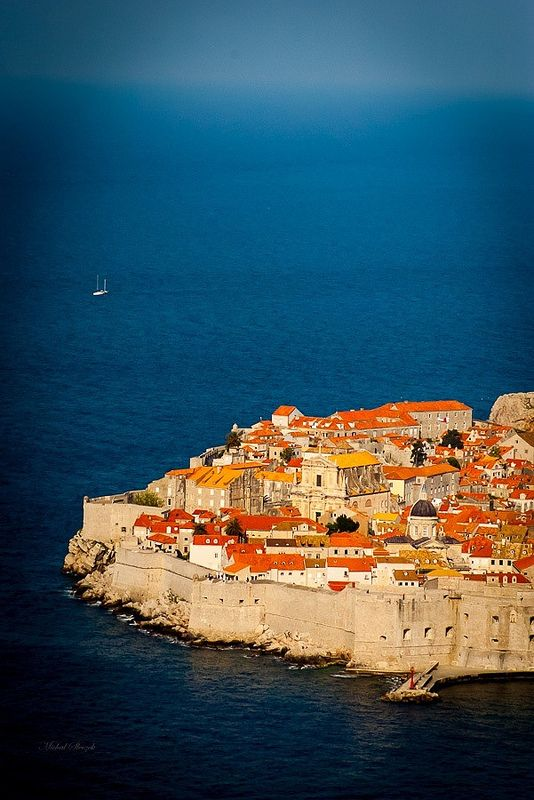 Pearl of Adriatic - Dubrovnik old town, Croatia