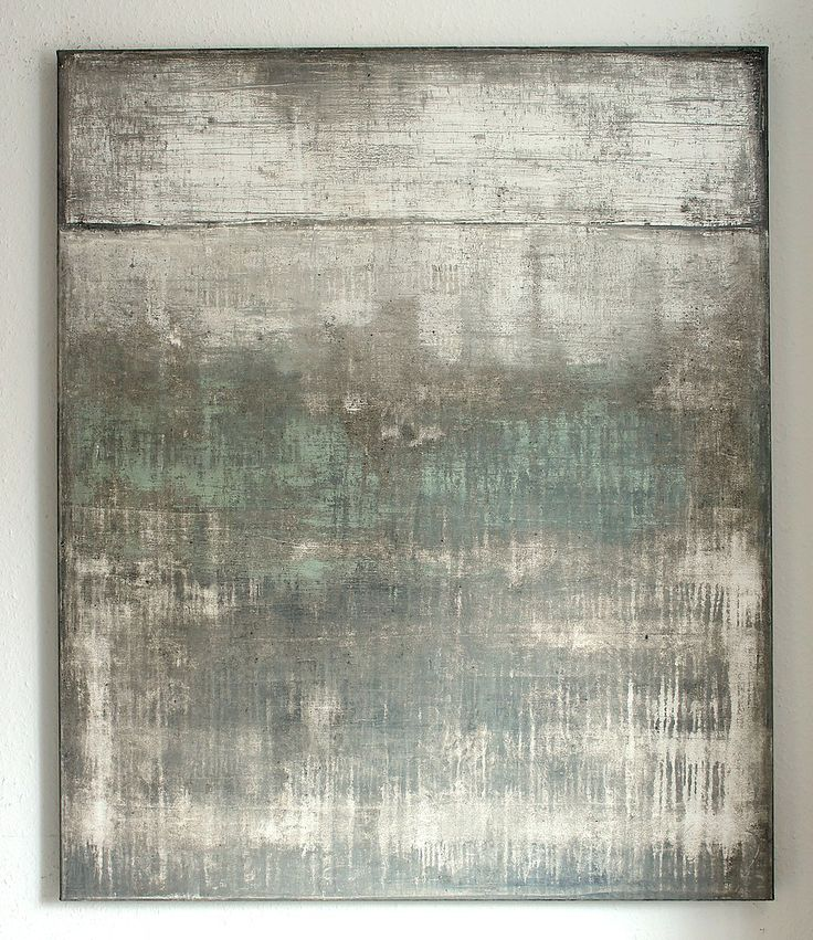 wall impressions No.16 -120 x 100 x 4 cm, mixed media on canvas - CHRISTIAN HETZEL