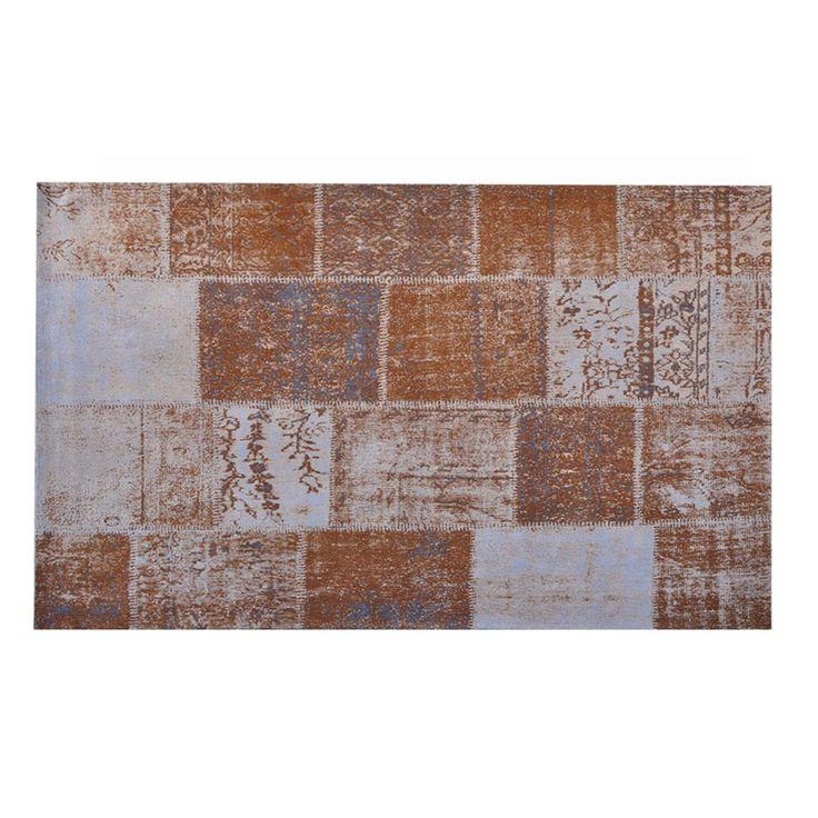 Patty karpet 170x240cm bruin van Brix koop je zonder verzendkosten en snel bij deleukstemeubels.nl  | Deleukstemeubels.nl