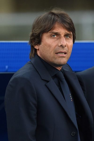 Italy head coach Antonio Conte looks on during the international friendly match between Italy and Finland on June 6, 2016 in Verona, Italy.