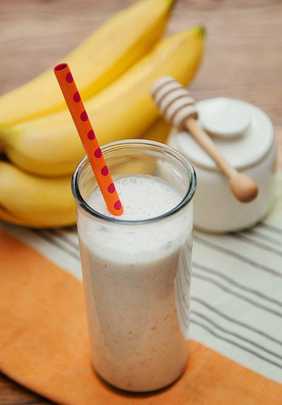 The simple combo of banana, dates, yogurt, honey, ice, and (surprise!) cinnamon, makes a refreshing and tasty concoction, especially for sip...