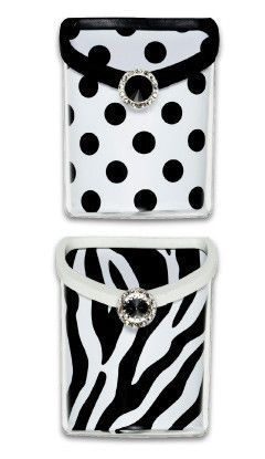 black white polka dots and zebra stripe locker accessory bins great decorating idea for