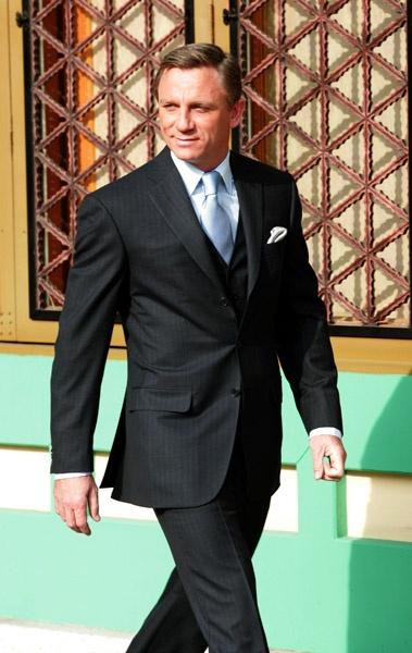 Daniel Craig / well dressed. I like him as 007... enjoyed Skyfall.